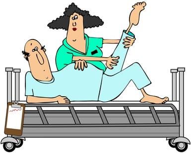 ginocchio fisioterapia roma